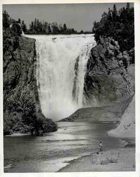 Canadian Pacific Railway, Montmorency Falls, Quebec, s.d.